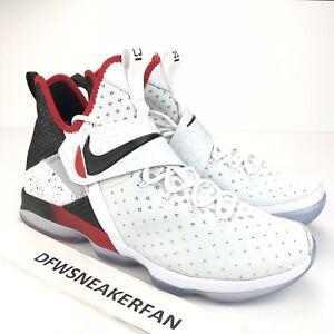 5007b71f32d Nike Lebron 14 XIV Flip the Switch Men s 10.5 White Red Black 852405 ...