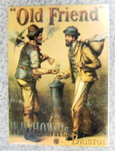 #AA. W.D. & H.O. WILLS TOBACCO  PRINT ON BACKING