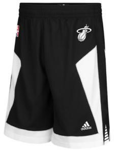 Adidas Miami Heat Limited White Hot Swingman Player Game Issue shorts NBA men PE