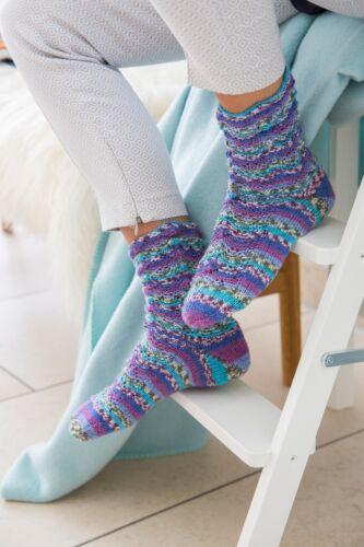 *100g Sockenwolle mit Merinowolle und Bambus *Gründl Hot Socks Rubin 4fädig