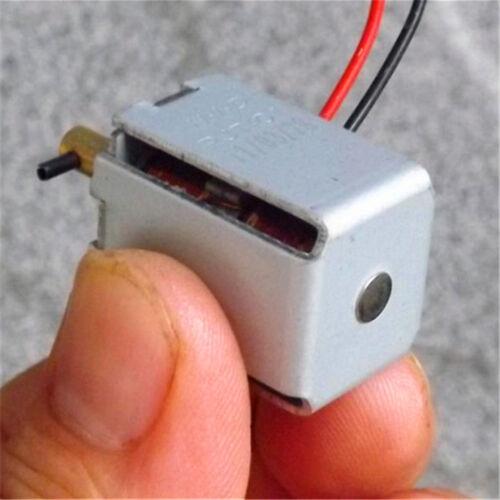 2 Pcs DC6V-12V Mini HID PJT-01 Bidirectional Self-hold Push-pull Electromagnet