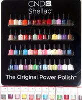 Cnd Shellac Uv Gel Nail Polish - Pick 1 Or More Colors A-z Brand Retail Box