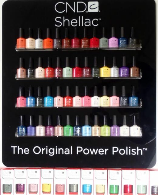 Cnd Shellac Uv Gel Nail Polish Pick 1 Or More Colors A Z Brand New Full
