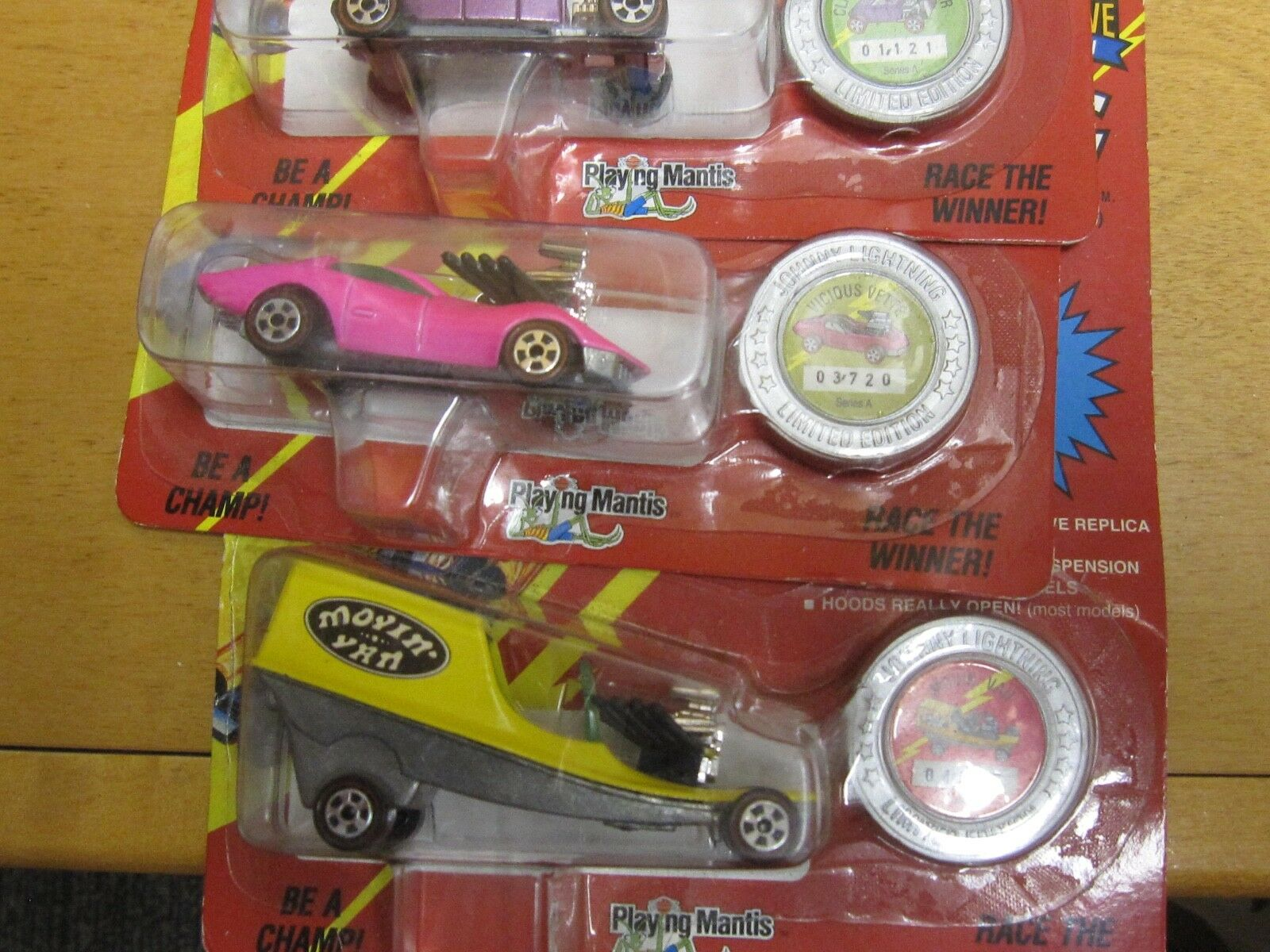 Johnny Lightning 1993 1st Ever Ever Ever Limited Edition Full Set 8 Cars Series A acfb01