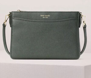Kate-Spade-New-York-Margaux-Medium-Convertible-Crossbody-Bag-Deep-Evergreen-NWT