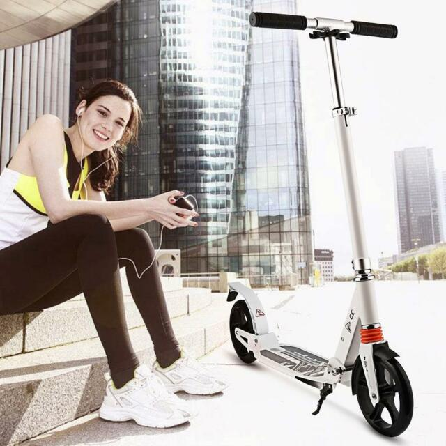 360 Degree Stunt Kids Scooter Outdoor Ride Push Scooter Girl Boy Gift Black Blue