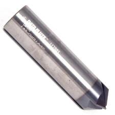"Diam 4 Flute 90 Degree Carbide Chamfer Mill 5-Pack USA Made H2 1//8/"" .125/"""