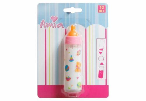 AMIA latte BOTTIGLIA Magic Bambole bottiglia bambole accessori flacone flaconcino latte