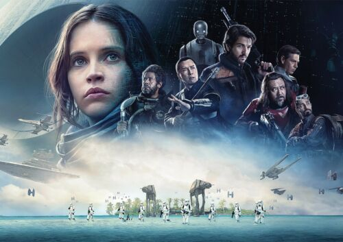 Rogue One Poster Saga Star Wars New Coming in Dec 2016 FREE P+P CHOOSE YOUR SIZE