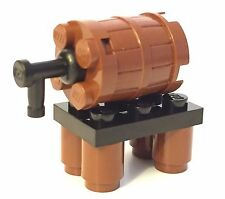 Lego Wine Beer Barrel Custom Tap Castle Pirate City LOTR hobbit MOC Modular Town