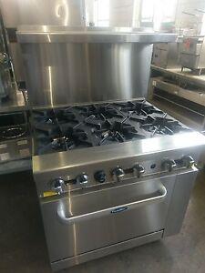 Image Is Loading Atosa Ato 6b 6 Burner Range W Oven