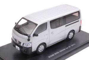 Nissan Nv350 Caravan Van Dx 2012 Argent 1:43 Modèle 45595 Ebbro