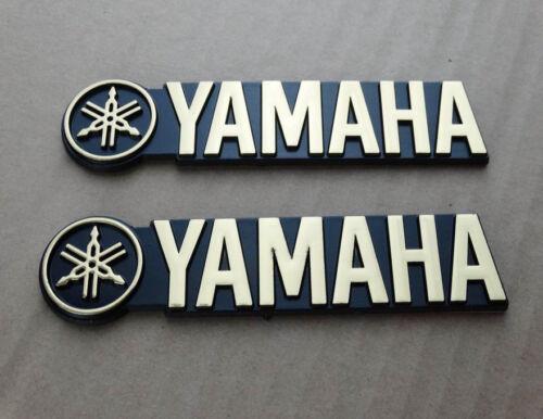 3D Fuel Petrol Tank Badge Fairing Emblem Decal Sticker Gold For Yamaha Racing MT