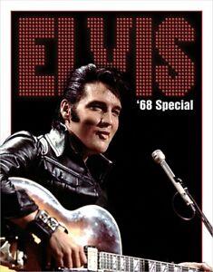 Elvis Presley Metal/Tin Sign: '68 Special