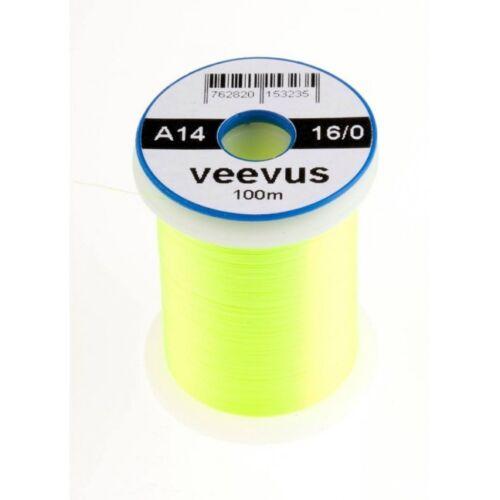Veevus BINDEFADEN 16//0 18 Farben Auswahl 100 Meter Spule Veevus BINDEFADEN 16//0