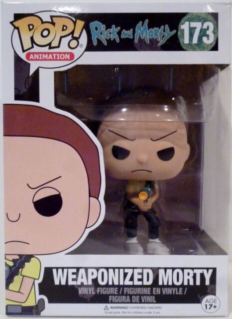 Funko POP animazione Rick and Morty Weaponized Morty #173 VINYL FIGURE