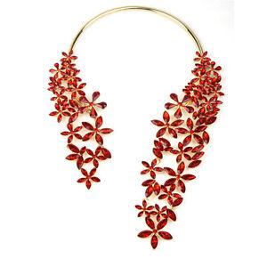 Chunky-Necklace-Pendant-Choker-bib-Jewelry-Chain-For-Women-statement
