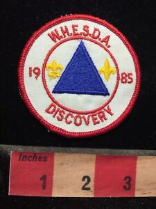 Vtg-1985-WHESDA-DISCOVERY-BSA-Boy-Scouts-Patch-70V7