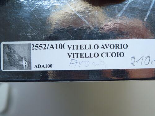 39 Jolie Vitello Cuoio Neu Gr Damenschuhe 2552 Très 100 Avorio Ada100 Designer vq766OW