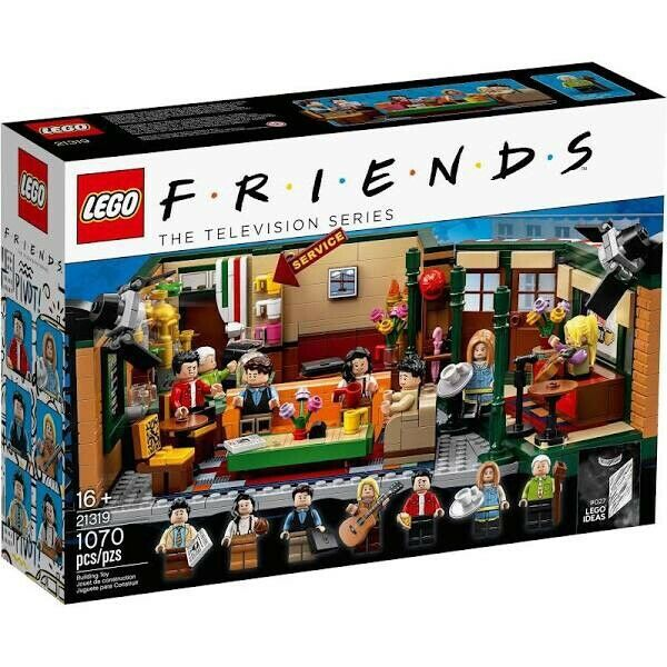 LEGO Ideas  Friends - Central Perk (21319) New in Sealed Box