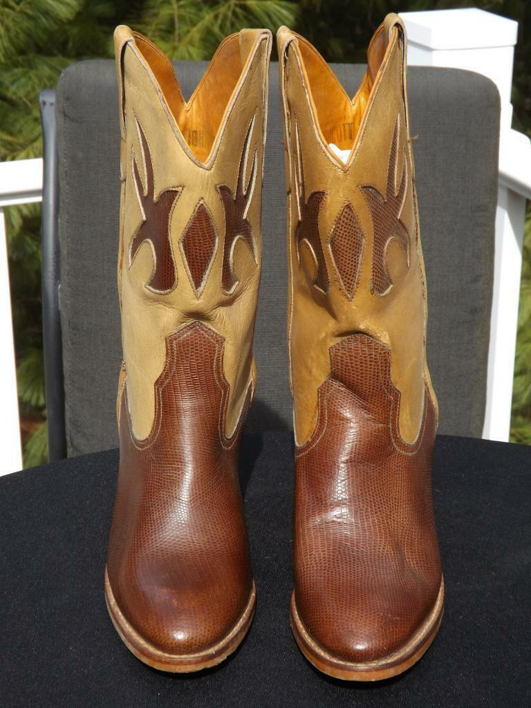 Endicott Johnson Mode Western Stiefel Größe 10