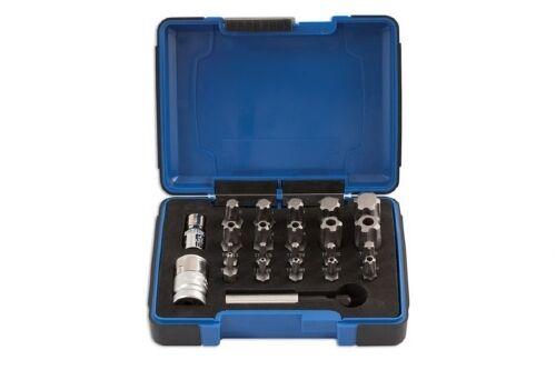Appena Laser Tools 5031 23 Pezzi 5 Lato Torx Sicurezza/antimanomissione Set Di Punte