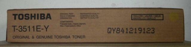 Original Toshiba T-3511E-Y Toner yellow für E-Studio3511 4511 Karton C