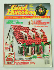 Good-Housekeeping-Magazine-December-1990-Holiday-Christmas-Gingerbread-Issue
