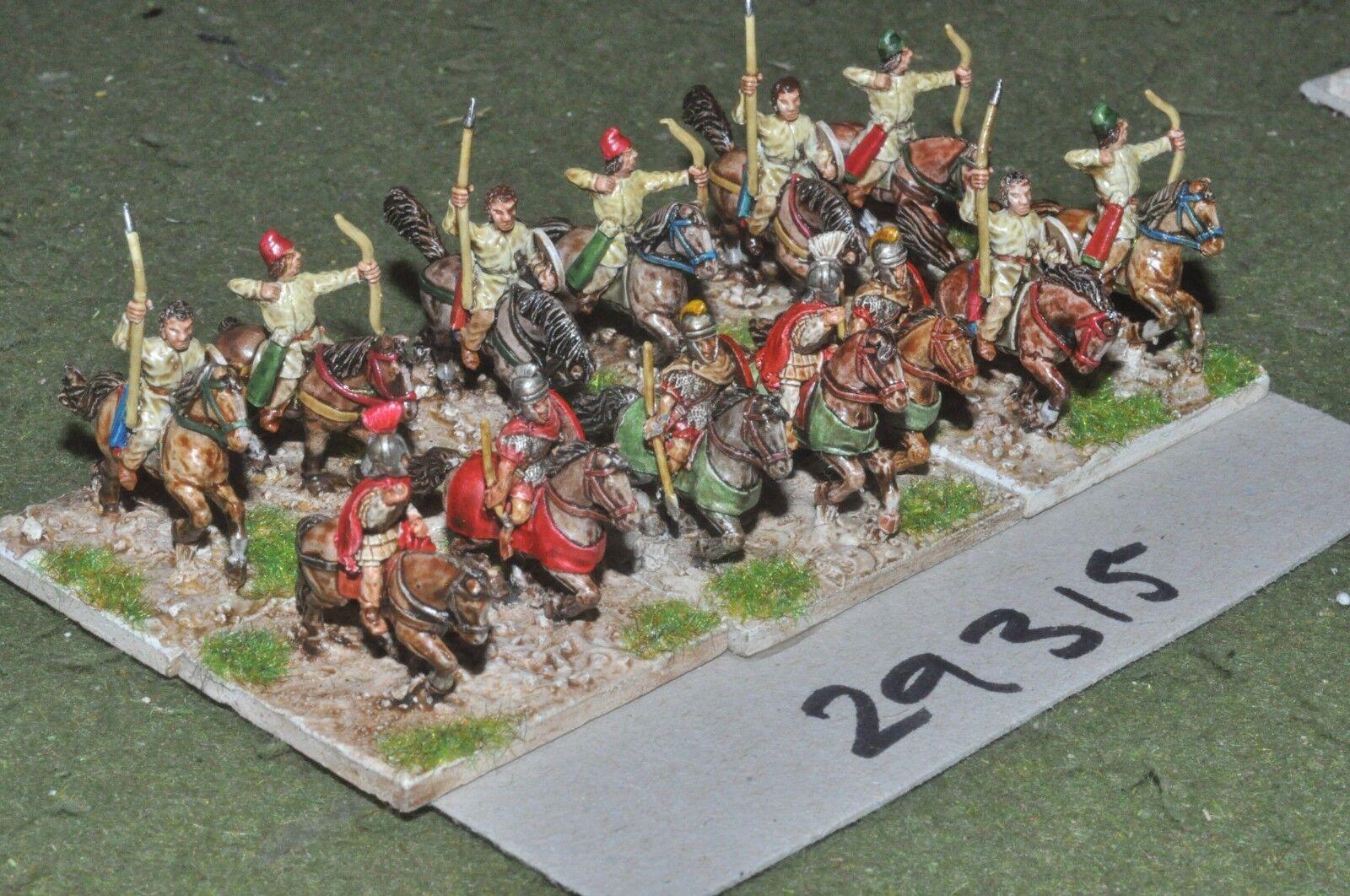 15mm roman era   roman - general & escort 13 figures - command (29315)