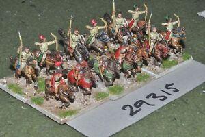 15 Mm époque Romaine/roman-général & Escort 13 Figures-command (29315)-afficher Le Titre D'origine