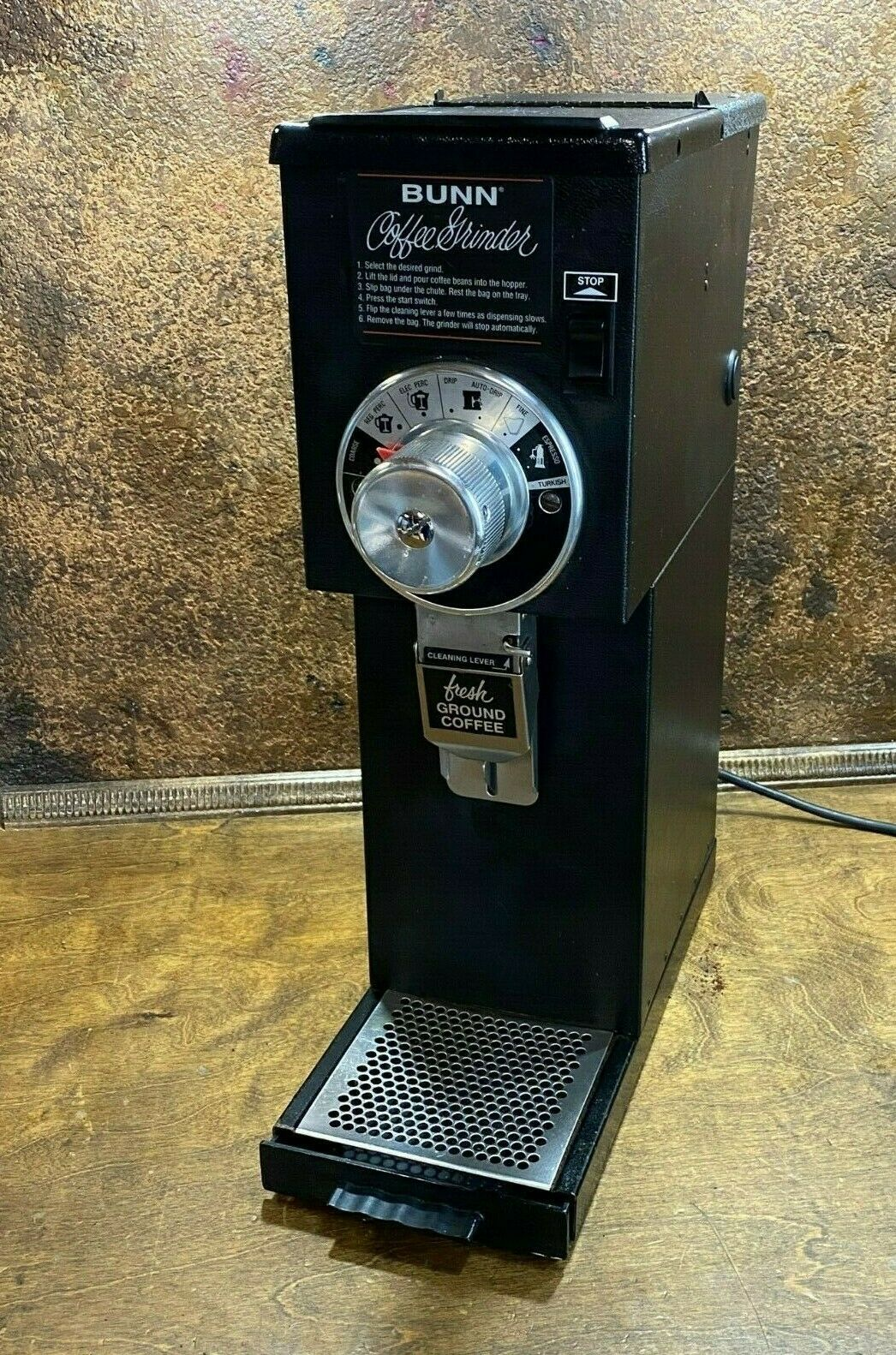 Bunn Coffee Grinder Burr Set G1 G2 G3 GVH Series 05861.1002