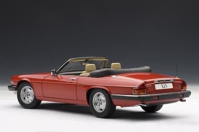 Modelbil, 1976 Jaguar XJ-S V12 Cabriolet, skala 1:18