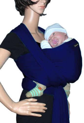marine Tragetuch SONNENSCHEIN Babytragetuch Babytrage Bauchtrage stretch