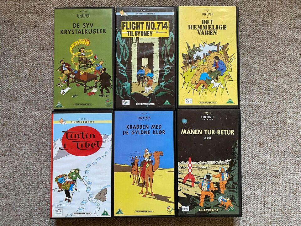 Tegnefilm, Tintin