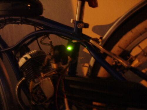 COMPLETO 6 volt sistema di illuminazione a LED per ciclo di 2 BICICLETTE A MOTORE PER FARI A LED