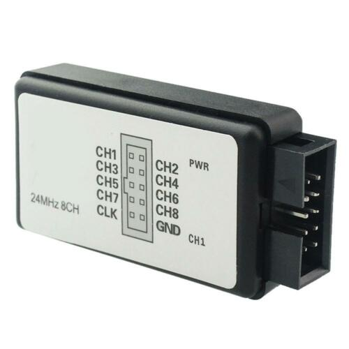 USB Logic Analyzer Device Set USB Cable 24MHz 8CH 24MHz for ARM FPGA M100 CA