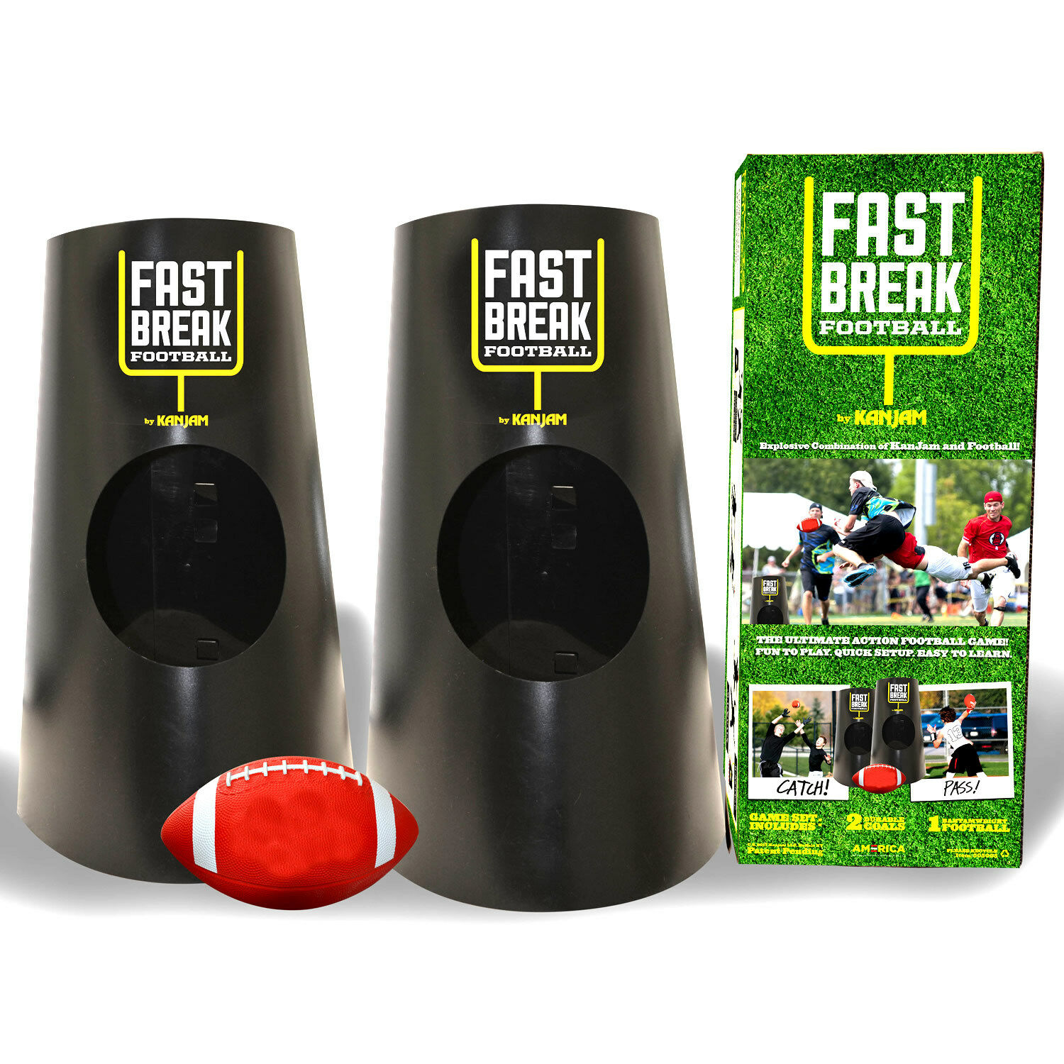 Kan Jam Football Ultimate Disc Game Set  Portable Outdoor Sports Can Jan Tailgate  brands online cheap sale