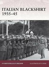Italian Blackshirt 1935-45 (Warrior), Crociani, Piero, Battistelli, Pier Paolo,