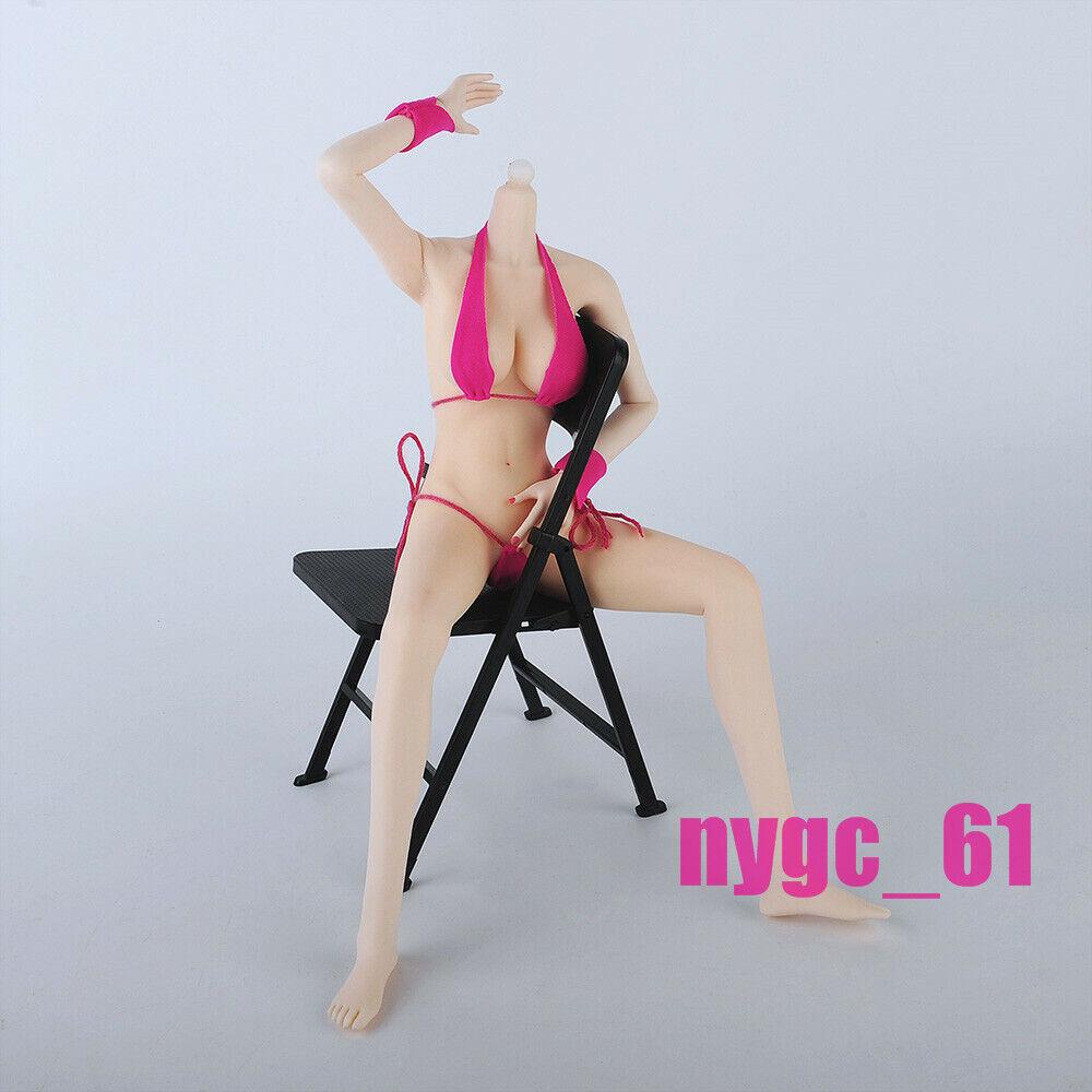 16 Super FlexibleFemale corpo modellolo Pale gree autobust azione cifra Inseparable Feet