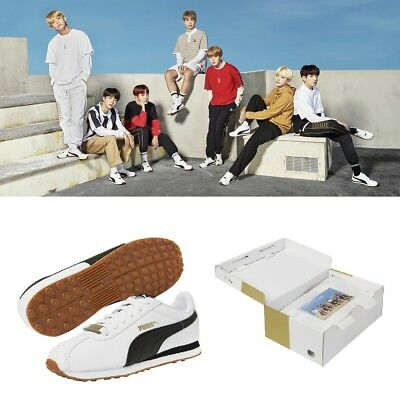 PUMA X BTS Limited Edition Turin Sneakers Shoes Official Goods Photo Card  Box | eBay