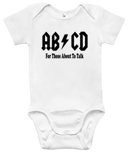 AB//CD For Those About To Talk Baby Clothes for Infants Baby Bodysuit