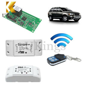 Sonoff Wireless Smart WiFi Home Switch Module DIY fr RF 433Mhz Apple Android//IOS
