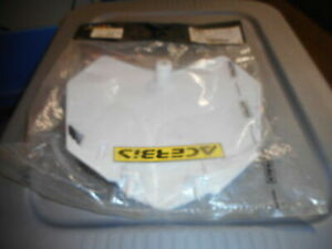 Acerbis White Front Number Plate for KX 125 250 03-07 250 450 F 04-08
