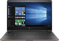2017 Rose Gold Hp Spectre X360 15 -bl 15.6 4k Uhd (3840x2160) Nvidiagtx Laptop