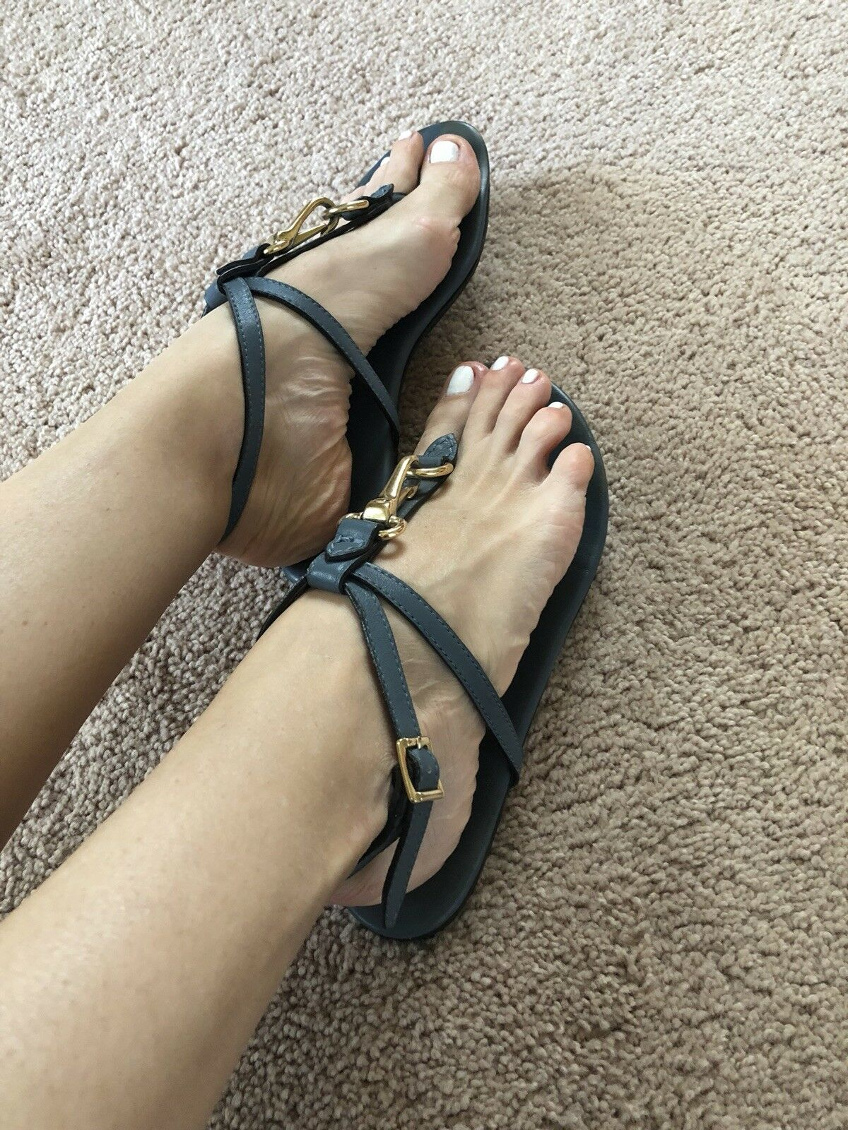 Burberry Women Sandals Size 38 (8US)