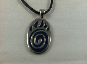 NEW Color Change Bear Foot Print Paw Claw Mood Pendant Necklace