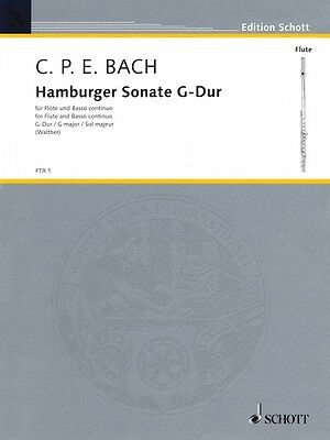 Professional Sale Hamburger Sonata In G Major Wq Instruction Books, Cds & Video 133 Book New Schott 049010497 The Latest Fashion