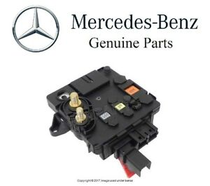 mercedes w215 cl class w220 battery cable junction block with fuse rh ebay com Mercedes CL550 AMG Mercedes CL600