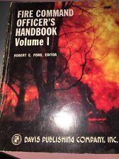 fire command officers handbook Vol 1