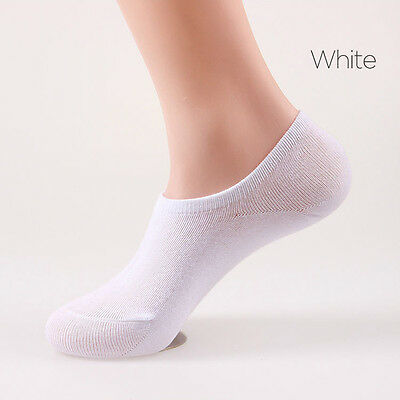 5 Pack No Show Casual Invisible Design Low Cut Premium Cotton Mens Womens Socks